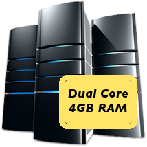 dual core 4GB machine
