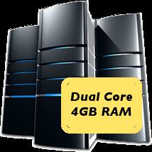 dual core 4GB machine