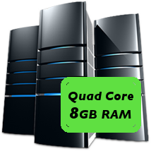 quad core 8GB machine