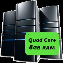 quad core 8GB machine